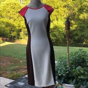Classic slimming dress